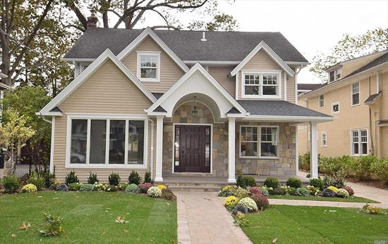 Grand Center Hall Colonial features, 4BRs, 2.5 bths, Enjoy Gatherings in this expansive Living Room with Fireplace, Formal Dining Rm w tray Ceiling, Gourmet Kit w/ Center Island, New Appliances, Fam Rm with French Doors opening to back patio. Master Bedroom w Lavish Master Bath suite, Laundry Rm, Walk up attic, Full basement. Every detail was carefully selected and quality crafted. Park-like backyard 175 deep. Deisrable Harvard Section of RVC, Hewitt Schools.
