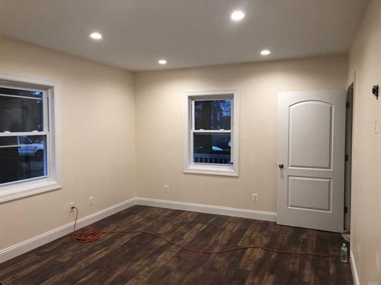 Complete Renovation, Beautiful Apartment With Private Deck Off Master Bedroom, Off Street Parking Washer Dryer Hook Ups Tenant Pays Own Gas, Electric And Water.