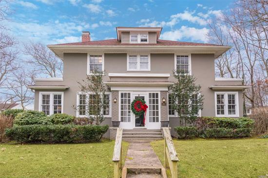 Classic Brightwaters Ackerson Colonial has all of the Charm you've been waiting for, yet the Renovations needed to meet today's Entertaining lifestyle. Gorgeous hardwood floors throughout. Living Room with Cozy fireplace. Built-ins and Custom Moldings throughout. Chef's kitchen with Viking stove and Radiant heat, slate patio! Brightwaters amenities include Summer Camp, Boating, Walker Beach, and Private Security. Won't Last!