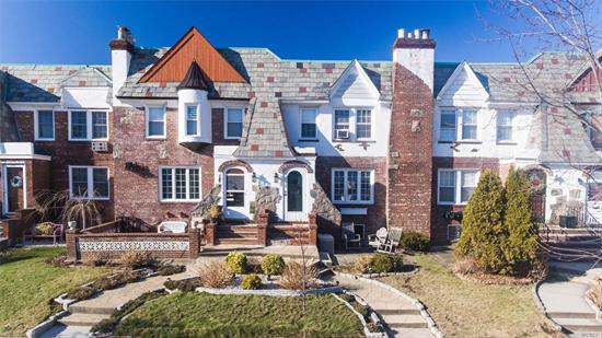 Beautiful Attached 2 Story Brick Tudor that Exudes Warmth and Charm. Wonderful Details Throughout. Gleaming Wooden Floors and Traditional Moldings open to Living Room W/Fireplace and Large Formal Dining Room. Near Mall, Barrett Park and Seconds to LIRR. Hewlitt- Woodmere Sd#14. Ogden Elementary. Private Space in Back Enclosed w/New Fence and Attached Garage. Taxes Are Being Grieved. Convenient to All.