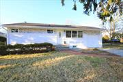 Totally Renovated 70x100 Ranch,  3 bedrooms 2 baths , Cathedral ceilings , high hats lights, Sky lights , located in Old Bethpage , Plainview- old Bethpage Schools, Open layout concept, Private driveway, Super Low taxes, master bedroom on main floor, full finished basement with side entrance, New appliances, Quartz countertops. Best deal on market !
