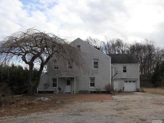 Wonderful Opportunity To Own This Unique Property Right In The Heart Of Dix Hills. Remodel The Existing Home Or Build Your Dream Home. Original Two Story Home Nestled On 4.1 Expansive Acres. Great Property For Horse Lovers. Must See To Appreciate. Easily Accessible From The LIE And Northern State.