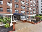 1 Bedroom Apartment At The Well Maintained PARK CHATEAU, (7Am-12Am) Doorman Building With Live-In Super And Friendly  Staff. The Building Also Includes Laundry On Premises, Close To Lirr, Express E & F Trains, Express Bus To City & Jfk.