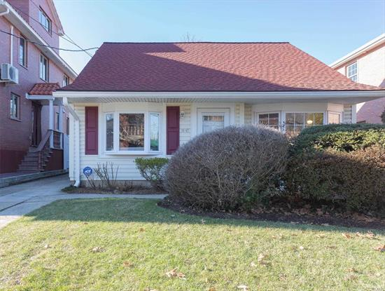 Prime Prime Bayside Mid-Block Location. Right near alley pond park. Close to transportation, schools, restaurants, house of worship. This 40x100 Lot cape has R3X zoning for converting to 2 Family. Buyers please consult with your own architect. Will not last!