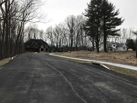 Half Acre Lot New 5 Lot Sub Division. Secluded Cul-De-Sac, Surrounded By Trees And Million Dollar Homes.