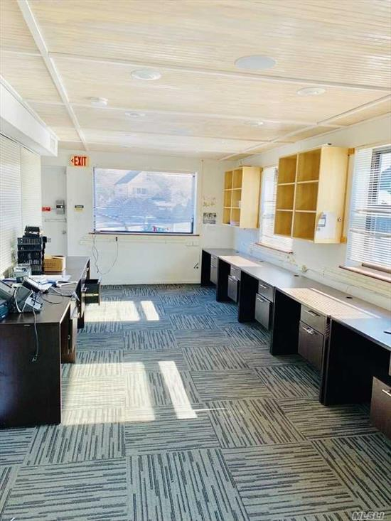 Best Deal In Great Neck! 2nd Floor Office Space For Rent. Utilities Are Included