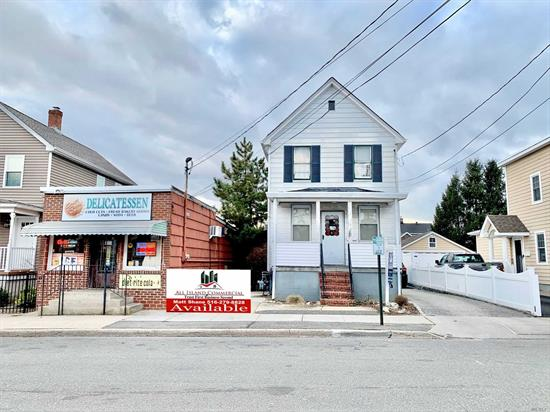 Calling All Investors, Developers & End-Users!!! 3 Unit, 2, 800 Sqft. Mixed Use Property For Sale Offered At A 9 Cap (Proforma)! The Property Consists Of 3 Freestanding Structures; A 800 Sqft. Deli, A 1, 300 Sqft. 2 Story (2) Br House & A 2.5 Car Garage. The Property Also Features Great Signage & 6 Private Parking Spaces.