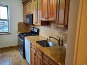 Board approval required for this very large 2 bed/2 bath unit in well kept co-op with private courtyard in heart of Rego Park. Huge, cavernous living area, beautiful spacious kitchen with 2 window exposures. separate dining area. Pre-war charm. Quiet and sunny. steps to subway and best shopping district in Queens.
