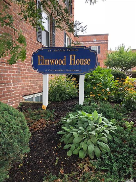 Co-op Application fee of $150. Co-op Board Approval Required Beautiful, Studio Apt at Elmwood House, located in the Heart of Rockville Centre!! Close to LIRR, Shopping and Restaurants Large living room, Kitchen is bright, full bath and plenty of closets. A must see!!