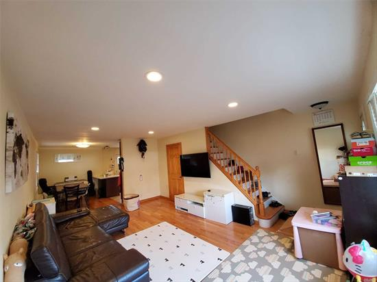 Rare Bay Terrace Duplex Corner Unit In Section 1. This Unit Features New Hardwood Floors, Stainless Steel Appliances, Renovated Kitchen, Two Large Bedrooms, One Bathroom, And A Large Attic For Extra-Storage. Maintenance Includes Electric, Heat, Water, Snow/ Garbage Removal, Property Tax, And On-Call Services. Express Buses To Manhattan (QM2 And QM32) Across The Street. Queens Local Bus (Q13).