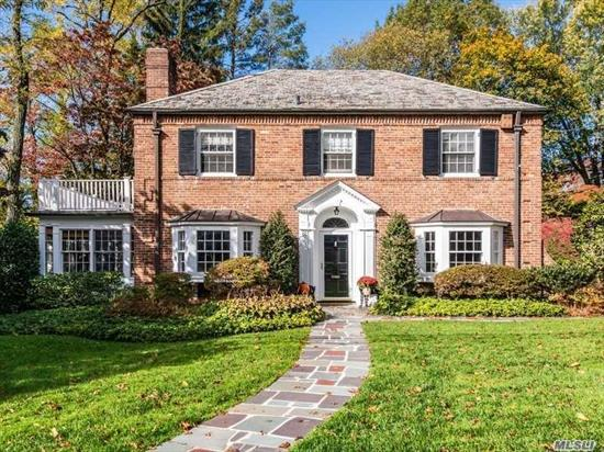 Gracious Brick Colonial in the heart of Munsey Park. Classic details throughout this quintessential 4-bedroom home. Wonderfully scaled rooms, including sunny large family room with fireplace. Convenient to schools, parks, shopping and train. Will see reduction for 2020-2021 tax year due to successful grievance.
