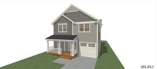 New Construction To Be Built. Model Next Door. 4 BedRm Colonial, 2.5Bath in Heart of Seaford . Still Time to Pick Your Colors Hurry!
