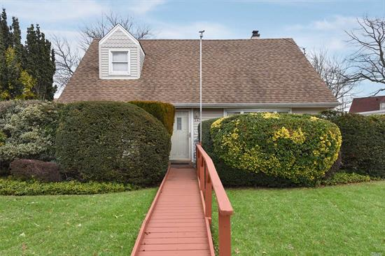 Lovely Expanded Cape - Approximately 1700 Sq. Feet. FDR, Updated Granite Eat-In Kitchen W/Gas Cooking & Pantry Closet, Large Den/Great Room(20X13), 1st Floor Master, Updated Bath With Walk-In Shower, Large Laundry Room (10X13) With Plenty of Storage, Private Yard With Unique Hand Crafted Gazebo, Ten Year Young Gas Heating System, Garage With Work Shop, Private Fenced Yard.
