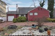 Expanded 4 BR, 2 Bth Ranch in Amazing Location in SD#15.LR, DR, EIK & Family Rm. Huge Bedroom Upstairs.Circular Driveway. Attached Garage. Endless Possibilities! Near Transportation & Houses of Worship. Low Taxes!!