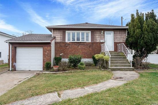 Beautifully Renovated Raised Ranch in Desirable Ocean Harbor Area. This Home has New Kitchen, Baths, Roof and Windows. Fully Finished Basement With Additional 1100 SQ. Ft Space. Flood Insurance $1, 300.00 Annually. Near Train. Home Is Waiting For it's New Owner!!!!
