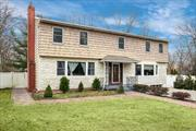 Unique Opportunity To Own A Custom Built Oversized Colonial In Rustic Acres. This True 6 BR Home Has Been Fully Updated Inside. HW Floors, Paint, Moldings, Kitchen, Bathrooms, Anderson Windows. GAS - FP, Heat, + Cooking. This FP Offers Generously Sized Living Rooms, Dining Room + Bedrooms. 1st Flr Also Inc. Sep Office With OSE. Outside - A Large Deck + Patio, Newer Shed, IG Sprinklers, Fully Fenced In Beautiful Yard- Over 1/2 Acre Lot. Newer Cesspool. The Perfect Home to Entertain! A Must See!