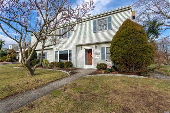 This unique 2400 sq. ft. Colonial sits on parklike oversized property located on serene street in the Oceanside School district. T Move-in ready home boasts 5/6 bedrooms w/ alot of living space and perfect for a M/D set-up w/ proper permit. 4 bedrooms on 1 floor! Updated EIK w/ wood, granite and Stainless steel appliances , gleaming hardwood floors and many other upgrades. 2 sets of sliders to gorgeous yard and new stone patio. Best of all, affordable taxes! Don't miss it!!