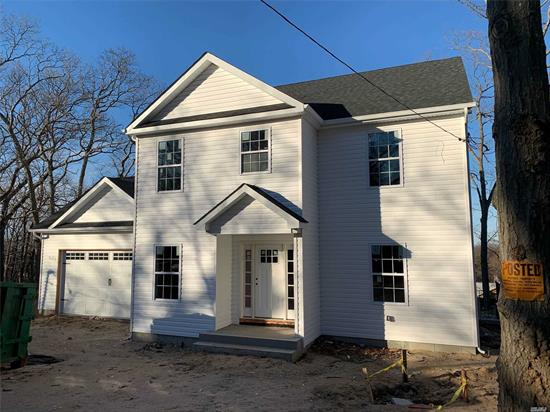 NEW home under construction and should be finished by Approx March 1, 2020. Home will include 4 Bedrooms including a Master Suite. Main Floor Open Floor Plan With Family Rm Open to Kitchen, Dining Rm, Central Air, 1st Flr Laundry, Full Basement, & 2 Car Garage.