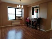 Come see this beautiful Jr4 (2Br) on 9th floor ! --All utilities included, w/AC no extra charge, 5 big closets, southeast exposures --Recently renovated, open kitchen --Fire proof building, no fire escape hanging outside, 24h security cameras --Parking available, waitlisted --Less than a block from 67Ave station and bus stop --Close to good schools, gym, malls and shops