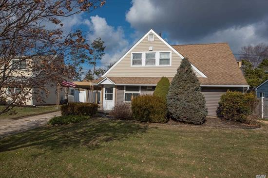 Low Tax Expanded Ranch in Levittown featuring 3 Bedrooms 2 Full Baths. Custom Built 2 Car Detached Garage with Loft. Conveniently located near Transportation, Shopping and Dining. Home has lots of Potential!