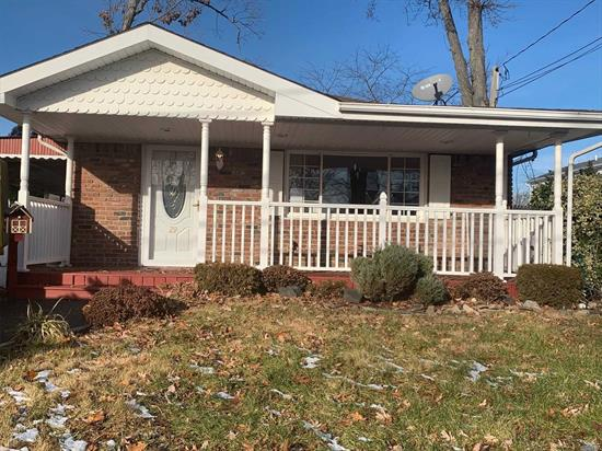This is a Bank Owned Foreclosure. Property is Being Sold As Is. Ranch Features 3 Bedrooms, 1 Bath. Endless opportunity for new buyers.