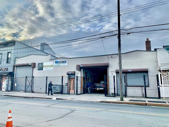 Calling All Investors, Developers & End-Users!!! 4, 850 Sqft. Warehouse For Sale On Busy Wyckoff Avenue. The Property Features A 5, 800 Sqft.+ Warehouse, Private Gated Garage, High 16'+ Ceilings, 3 Phase Power, Handicap Access, 2 Drive-In Doors, Kitchen, Large Presidential Office, Kitchen, Secure Tool Room, +++!!!