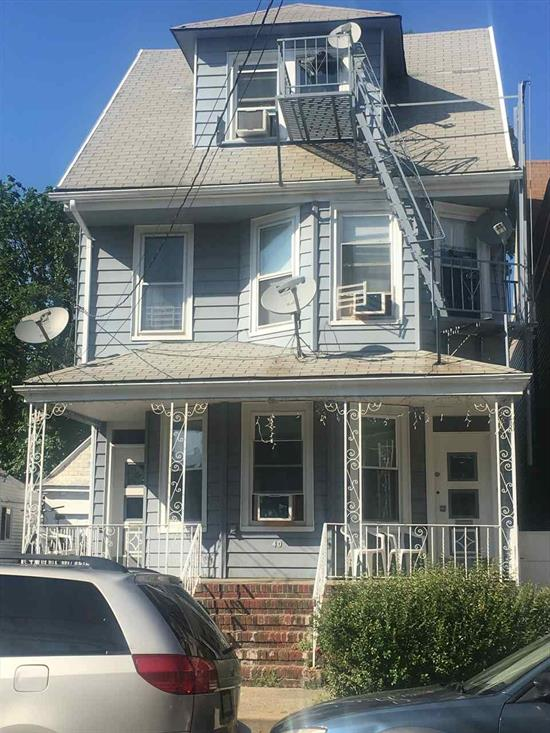 Not A Short Sale, Not A Foreclosure Sale. Two Family House With Finished Basement And Bonus Apartment On The Third Floor With Fire Scape Stairs. 2, 283 Sqf. 4 Full Bathrooms. Half Block From Boulevard East. Very Desirable Area.