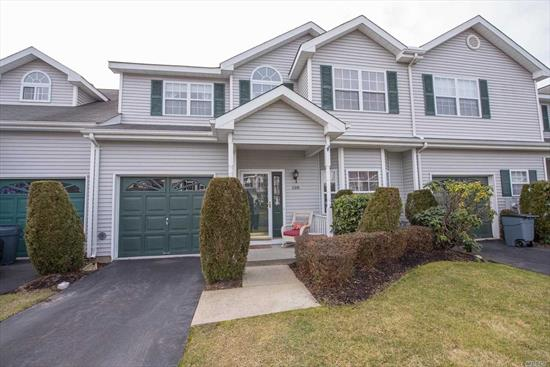 Beautiful and new to the market. Offering Spacious rooms throughout with formal dining room, living room with fireplace, master bedroom with bathroom,  and laundry room upstairs. Gas heat, CAC, attached garage,  deck for entertaining and a porch for relaxing. Come see for yourself....