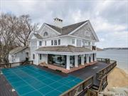 Hamptons Alternative: Near Enough To Manhattan To Be Convenient, But Yet A World Away. With About 300* Of Amazing Waterfront And Views, This 6 Bedroom, 4.5 Bath Colonial Is Heaven To The Eyes! Mint Condition Throughout, A Heated, Gunite Pool And A Private Beach Make This Unique Property The Perfect Summer Rental!