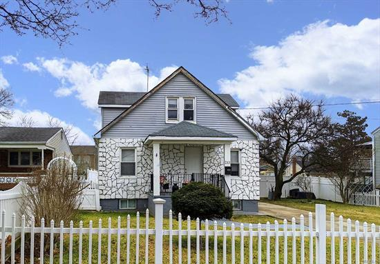 Great Location! This cozy cape with updates is conveniently located just minutes from Hofstra University. Large property with so much potential! In need of some TLC. Great Value - Low taxes. Will not last! More pics to come.