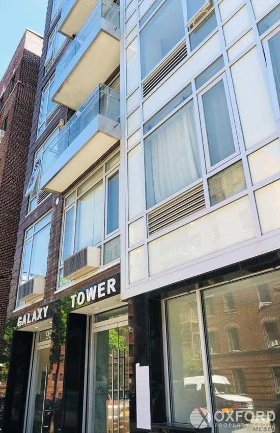 Luminous 2 bedroom 2 bath home with private balcony, East facing, floor-to-ceiling windows. Prominent location of Rego Park, 15 minutes walk to Rego Center, 5 minutes walk to subway, M and R line 25 minutes to Midtown Manhattan, 10 minutes drive to Flushing, 5 minutes to I-495 Long Island Expressway. Low carrying cost. 421A Tax Abatement until 2028.