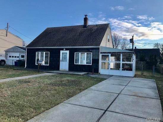 Well maintained home waiting for its new owner to put their touch on it. Open Living Rm Dining room area. Updates include Windows, Roof, Weil McClain Boiler and Concrete Driveway. Fenced in yard. Enclosed sunroom. Don't miss out on this great opportunity.