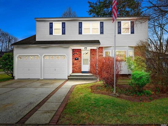 Spacious Colonial in the Heart of Baldwin. Featuring an over-sized Living room and Large F/Dinning which leads into your Spacious Kitchen. Enjoy a nice fire in the your cozy Family room, with sliders leading to the back yard. The Second floor features your Master Suite with an Over-Sized Walk-In-Closet. There are three additional bedrooms on this level with an additional full bath. This home Boasts a Large Screened in Patio, two care garage, hard floors, full basement and ample storage!