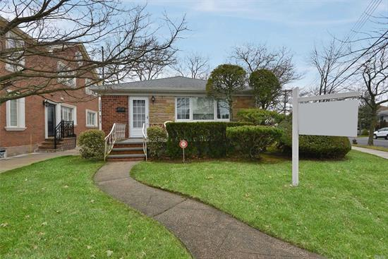 Just arrived- wonderfully maintained brick ranch style home on sprawling over sized property. Great opportunity to expand/rebuild in prime Little Neck location. Convenient to shopping & transportation , Easy access to expressway. School District 26- PS 221; JHS 067; Benjamin Cardozo HS