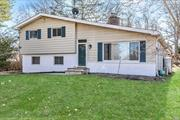 This Mint Condition 1, 700 SqFt 3 Bed, 2 Bath Home Is Larger Than It Appears Featuring Updated Kitchen, Living Room w/Vaulted Ceilings, Formal Dining Room, Family Room, Florida Room, HW Floors, Fireplace, Fresh Paint, Plenty of Closets/Storage, Attached Garage, Basement, Young Boiler, IGS, Rear Patio, 2nd Home From Dead-End, All On .35 Acres...Come See For Yourself