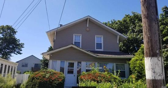 3 Bedroom Colonial Needs Work. Property is being sold As-Is, Where-Is. All inspections are done at buyer's expense, seller will not activate utilities. Virtual Tour .