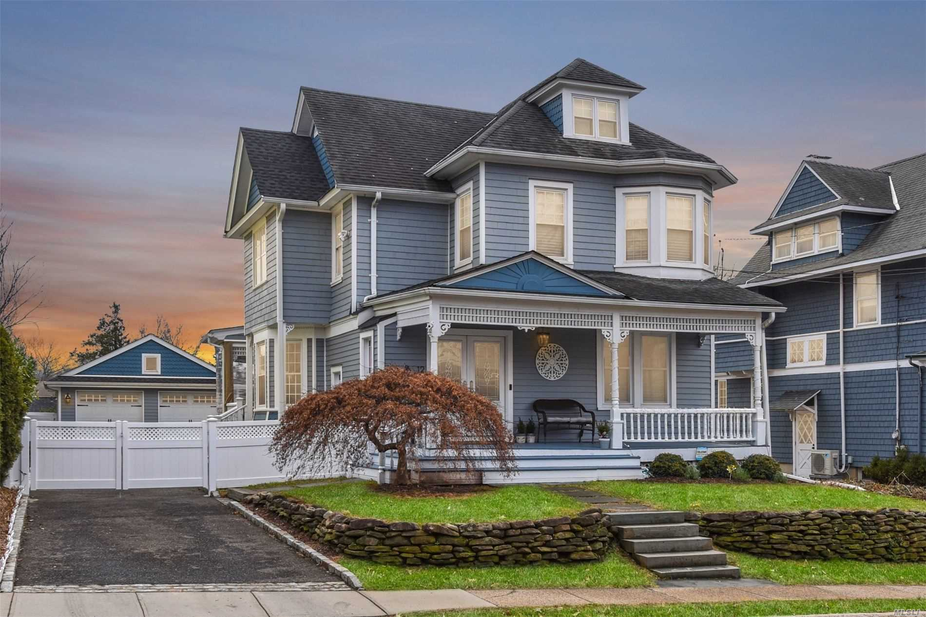 Positioned to capture a distant water view, this fabulous home with front and back porches, stunning finishes, open floor plan, generous bedrooms and more will truly impress!
