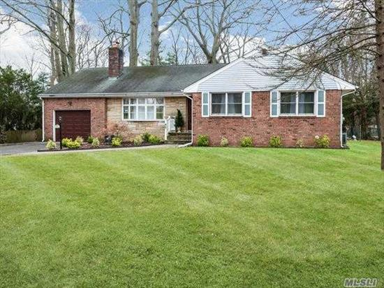 Totally renovated brick and stone Ranch updated within the last 2 years. Open floor plan, gourmet EIK with granite counters, SS appliances. Master bedroom with master bath and 2 additional bedrooms and full bath. Large private backyard.