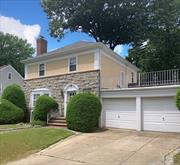 Come see this beautifully maintained Side-Hall Colonial home w/2 Car Att. garage in Hollis Hills that will please even the fussiest buyers! This home's gracious layout includes a large LR w/fpl, FDR, EIK, Full Bth, Sunroom & access to the 2 Car Att. Garage on the main level. The 2nd Fl has a Full Bath w/Jacuzzi & Sep Shower, an over-sized MBR & two nicely sized additional bedrooms. The partially finished basement has very High Ceilings, Den, Full Bth, Wet Bar, Laundry & a Summer Kit.
