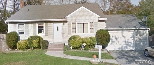 3 bedrooms up with 1 bath with a tenant with a lease until Oct 31 2020 2 bedrooms 1 bath available with a legal accessory permit Great house for someone who would rather own than rent. Tenant is looking to stay and has been there 13 years. Rental cover majority of the mortgage payment. Great way to afford to live on Long Island only 3 miles to LIRR and new roof and kitchen and appliances.