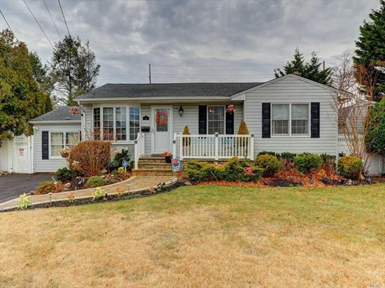 Your dreams have come true and all your boxes are check with this home! Vaulted ceilings, hardwood floors, open concept granite kitchen and formal living room feature radiant heat. There are sliders from the kitchen to the amazing yard and French doors from the gorgeous formal dining room to the back as well. Not one but 2 fireplaces! Beautiful updated baths. Finished basement, entertainers delight backyard completely private with inground heated pool and pavers! Newer boiler.