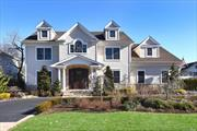 Magnificent 2017 Custom Built Colonial In South RVC. This Property Offers Exquisite Craftsmanship & Quality Construction Throughout 4100 Plus Sq. Ft. of Designer Living Space plus an over 2500 Sq. Ft. Basement with 9 ft. Ceilings & Egress. Grand Entrance w/Soaring Ceilings, Open Concept Floor Plan, Living Room with Gas Frplc with Adjacent Great Room & Gourmet Eat-In Kitchen with Top of the Line Appliances. 5 Bedrooms & 4.5 Baths. Laundry on 1st & 2nd Floor .5 Acre Entertainer's Backyard