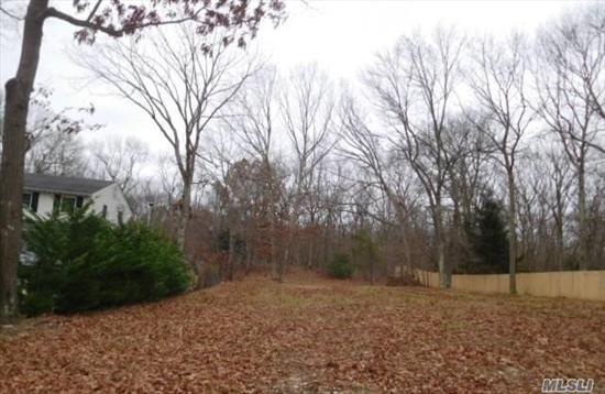 Here's your opportunity to buy this approx. .73 acre lot on Whiskey Road and conveniently located close to major roads, shopping, and schools. Bring your ideas to life with this blank canvas - Come take a look!
