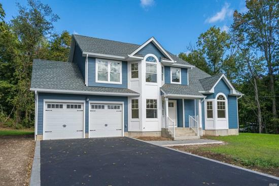 New Construction!! This classic 4-bedroom Colonial has hardwood floors, exceptional moldings and quality throughout. White Kitchen Cabinets with Silestone countertops and stainless-steel appliances. The eat-in Kitchen is open to family room with gas fireplace and overlooks the backyard. The Living room has vaulted ceiling and large bay window. Master bedroom has incredible full bath and 2 walk-in closets. This home has amazing backyard space and is conveniently located.