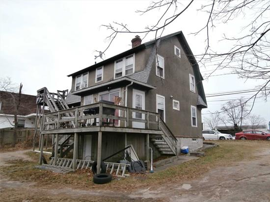Solid Antique 2 Story Home in Need of Your Personal Touch. Nice Sized Waterfront Lot. Peconic River Community Zone. Roof 12 years old; Furnace 3 years old, Hot Water Heater 3 years old.