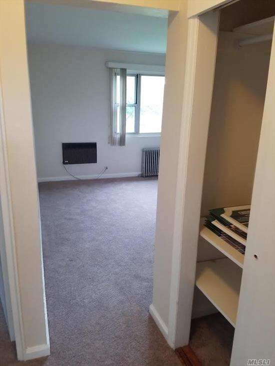 THIS IS A 2 BEDROOM APARTMENT IN A CO-OP ON THE 2ND FL.IT WAS FULLY RENOVATED 1 1/2 YEARS AGO.HAVE PLENTY CLOSETS SPACE, GOOD SIZE KIT, NICE DINING R AND LEAVING R.CO-OP REQUIRES MIN 675 CREDIT SCORE AND MIN $72, 000 ANNUAL INCOME. CO=OP APPLICATION FEE IS $500 NOT REFUNDABLE. APPLICANT HAVE TO BE APPROVED BY CO-OP BOARD.NO PETS, NO SMOKING.WAITING LIST FOR PARKING SPACE($35), GARAGE($60).LAUNDRY, STORAGE, NURSERY SCHOOL AT PROMISES. SCHD ELMONT.BUS N1, N4.