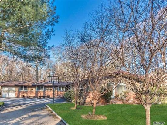 Sun Drenched Ranch Sitting On A Private 1.04 Acre. This Beautiful 4 Bedroom, 3.5 Bath Is Waiting For You To Come Home!