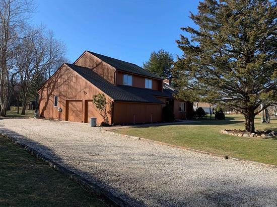 Wonderful Vacation or All Year Round Home In Peaceful and Desirable Pebble Beach Farms. Offers Private Beach, Golfing, Recreation and Privacy. Great Family Home With 5 BRs, 3 Full BAs, EIK, Large LR w/Beautiful Stone FP on over 1/2 acre. Great Value! A Must See!