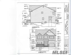 New Construction! Center Hall Colonial. 4 large bedrooms. Family Room with fireplace. Master Bedroom with walk in closet. All high end finishes. Full basement with 8 Ft. ceilings. Close to transportation, schools, village. Taxes are approximated. To be built. Photos are for information only. Finishes may change.