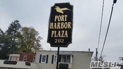 Port Harbor Plaza. Busy corner in Harbor section. Freshly painted, parking for customers. Perfect for Office or boutique. No food businesses.